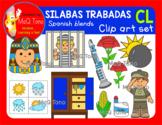 SILABAS TRABADAS - CL - CLIPART SET