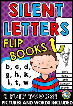 PHONICS ACTIVITIES: SILENT LETTERS FLIP BOOKS: PHONICS PRINTABLES