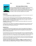 ART, SILHOUETTE PAINTING ACTIVITY INSTRUCTIONS (WITH RUBRIC), ONTARIO CURRICULUM