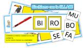 SILLABE IN GIOCO: un gioco per imparare a scrivere compone
