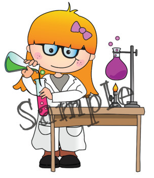 Clipart Weird Science {Lilly Silly Billy}