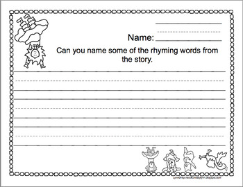 SILLY SALLY BOOK REPORTS TEMPLATES