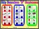 """SILLY SENSELESS """"D"""" SENTENCES- A Dice Bingo Game- Speech Therapy"""