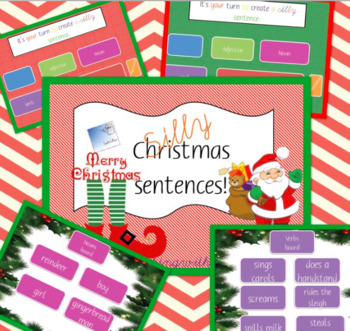 SILLY SENTENCES - CHRISTMAS EDITION