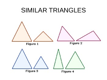 similar triangles ppt by barbara chambers teachers pay teachers