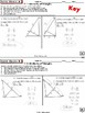 SIMILARITY: RIGHT  TRIANGLES (Geometry Curriculum in 5 min tasks - Unit 13)