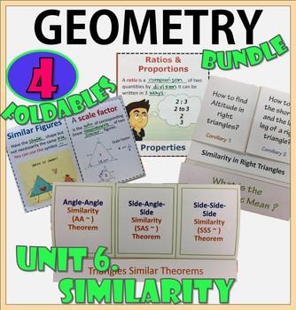 SIMILARITY. UNIT 7 GEOMETRY. Foldables Bundle