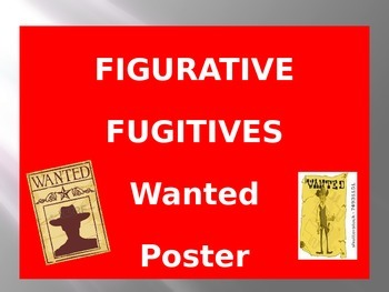 SIMILES AND METAPHORS ~ FIGURATIVE FUGITIVES