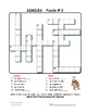 SIMILES Crossword Puzzles | FIGURATIVE Language | Vocabulary | Gr 3-4-5 ♥NO PREP