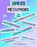 Figurative Language Similes, Metaphors and More!