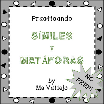 SÍMILES Y METÁFORAS