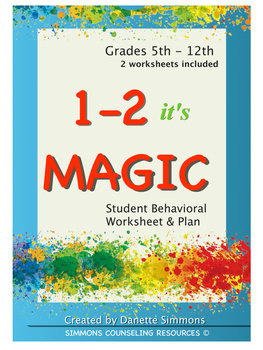 * NEW 1 -2 it's Magic Packet - Student Worksheets For Alte