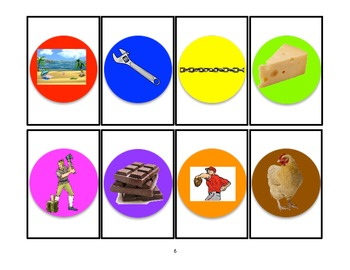SIMON SAYS Articulation Game for /CH/ Practice- Speech Therapy