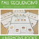 FALL SIMPLE 4 PART SEQUENCING FOR AUTISM AND SPECIAL EDUCATION