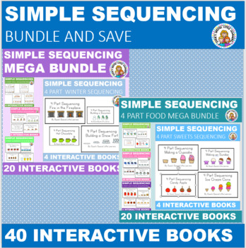 SIMPLE 4 PART SEQUENCING MEGA BUNDLE FOR AUTISM AND SPECIAL ED