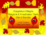 SIMPLE & COMPLETE SUBJECT & PREDICATE BUNDLE