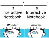 SIMPLE Editable Wonder Interactive Notebook