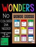 SIMPLE Focus Board 1st Grade WONDERS