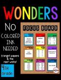 SIMPLE Focus Board 4th Grade WONDERS