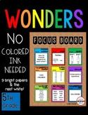 SIMPLE Focus Board 5th Grade WONDERS