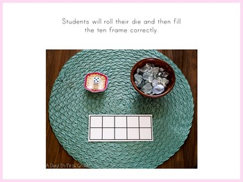SIMPLE Kindergarten Math Provocations and Centers For the Numbers 0-9