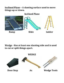 SIMPLE MACHINES STUDY GUIDE (SCIENCE)
