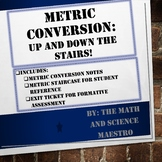 SIMPLE Metric Conversion Help! Notes for Mastery + Exit Ticket!
