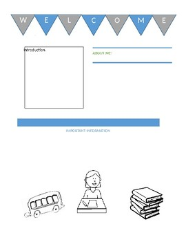 simple newsletter template by intervention corner tpt