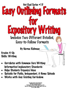 SIMPLE OUTLINE FORMATS EXAMPLES FOR COMMON CORE ESSAY WRITING