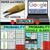 SIMPLE PROBABILITY with SPONGEBOB BUNDLE PDF & Google Slides