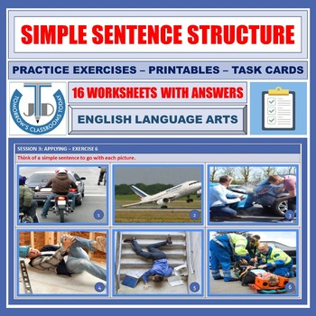 SIMPLE SENTENCES WORKSHEETS WITH ANSWERS