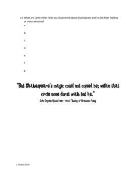 SIMPLE Shakespeare WebSearch