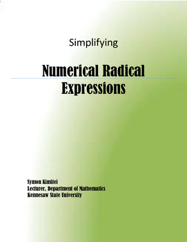 HOW TO SIMPLIFY RADICALS