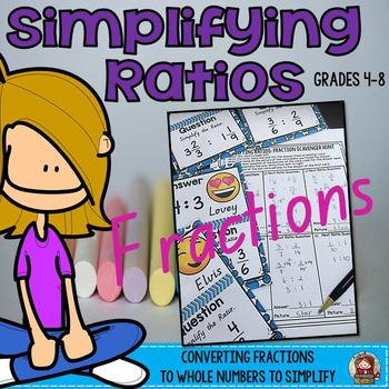 SIMPLIFYING RATIOS: FRACTIONS