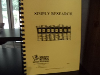 SIMPLY RESEARCH INFORMED   GIFTED MATERIALS