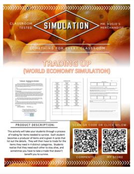 SIMULATION - Trading Up World Economy Game
