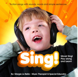 SING! CD to help kids get the words out. Gr8 4 speech / language
