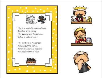 SING A SONG OF SIXPENCE NURSERY RHYME