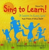 Hard copy CD of 13 curriculum-aligned songs & lyric sheet (Ages 4-9)