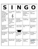 SINGO editable template and ideas