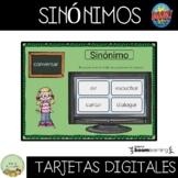 SINONIMOS #BOOM CARDS #TELEPRACTICE #SPANISH #TERAPIADELHABLA