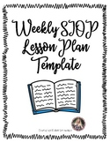 Weekly SIOP Lesson Plan Template (For ESL or all learners!)