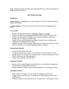 lesson plan writing a persuasive essay Teaching persuasive reading and writing lesson 12 using transitions in persuasive writing lesson 13 looking at leads and conclusions.