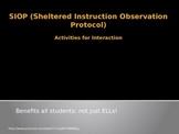 SIOP Professional Development Presentation