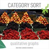 ELL/ESL Math:Category Sort-Qualitative Graphs