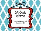 SIPPS Beginning Level QR Code Words