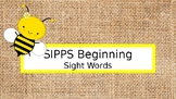 SIPPS Beginning Level Sight Word Review Presentation