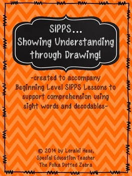SIPPS…. Showing Understanding  through Drawing!