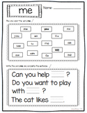 SIPPS Sight Word Activities