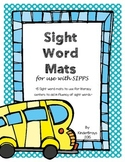 SIPPS Sight Words Activity Mats